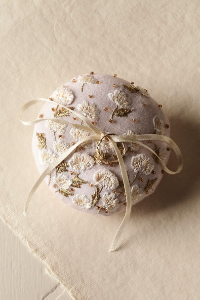Rose Field of Flowers Ring Pillow | BHLDN