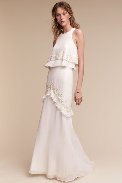Ivory Allegra Gown | BHLDN