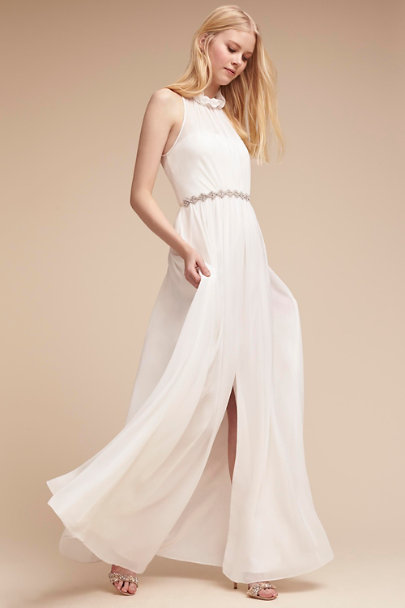 Hitherto White Camila Dress | BHLDN