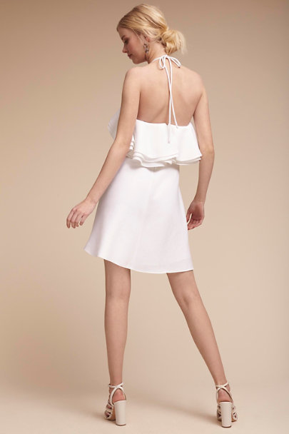 Badgley Mischka White Kieran Dress | BHLDN