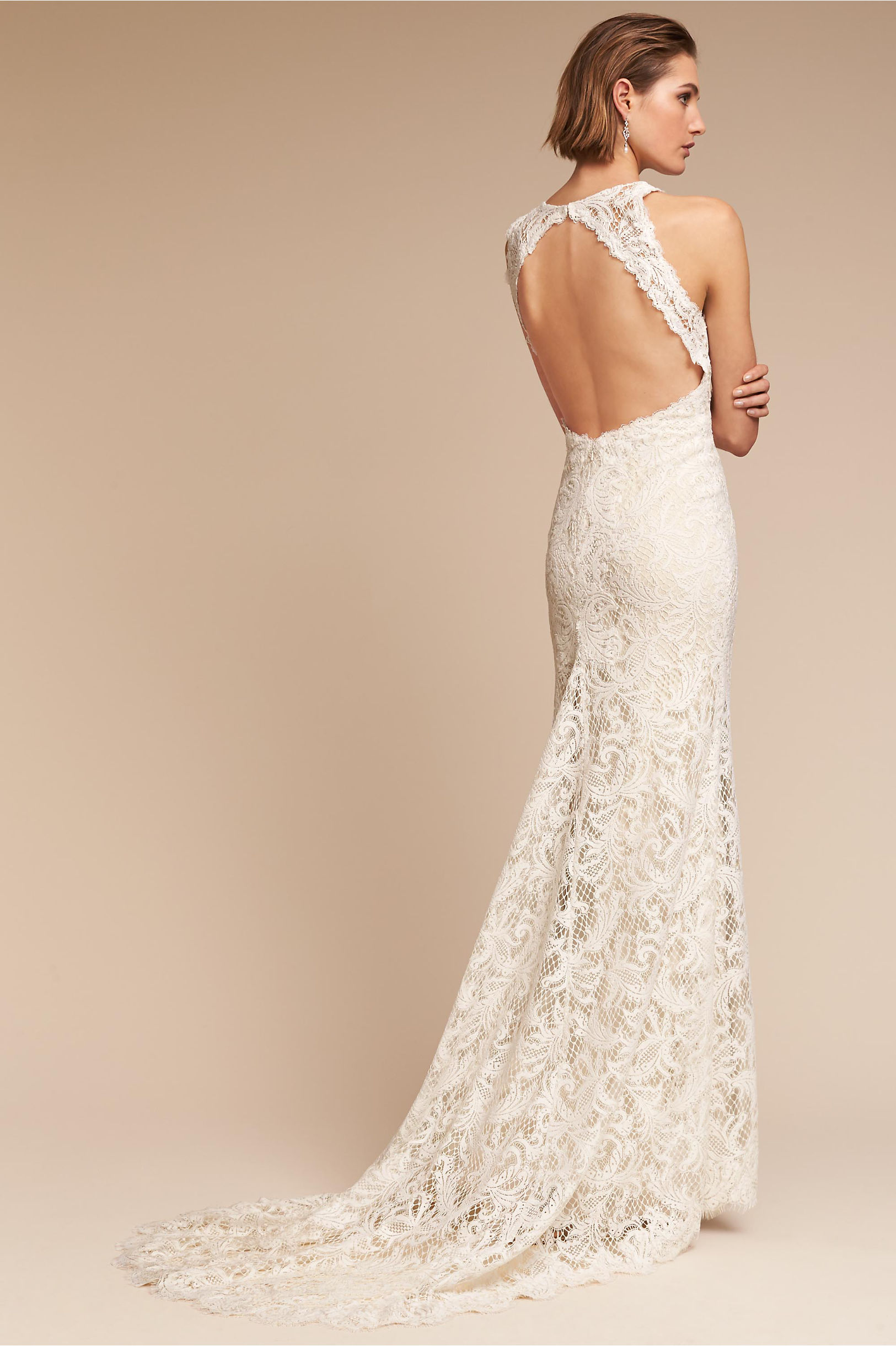 Ivory Champagne Ventura Gown