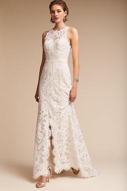 Wedding dresses gowns bhldn for Shop simple wedding dresses
