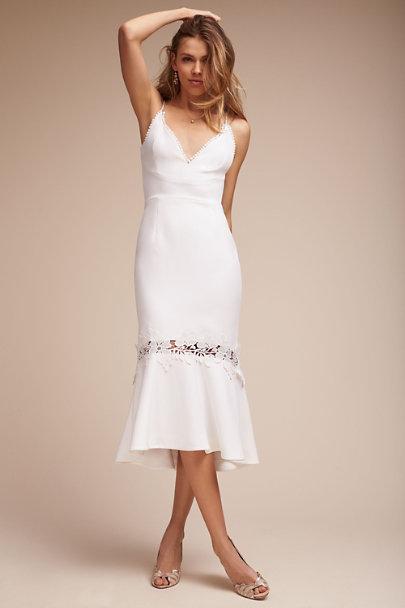 d5671655277c1 White Amina Dress | BHLDN ...