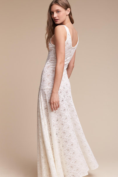 Twigs & Honey Ivory Ingalls Boudoir Slip | BHLDN