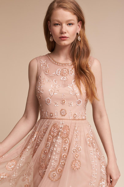 Adrianna Papell English Rose Abbington Dress | BHLDN