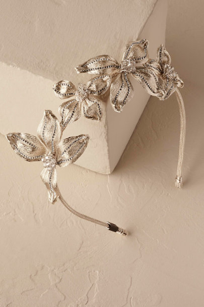 Gold Sigrid Headband | BHLDN
