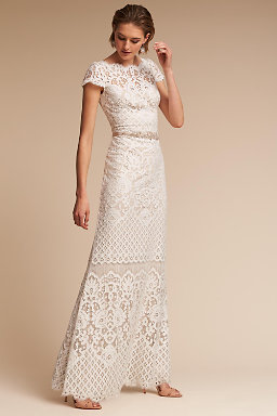 Shop wedding dresses on sale wedding dress clearance bhldn peridot gown junglespirit