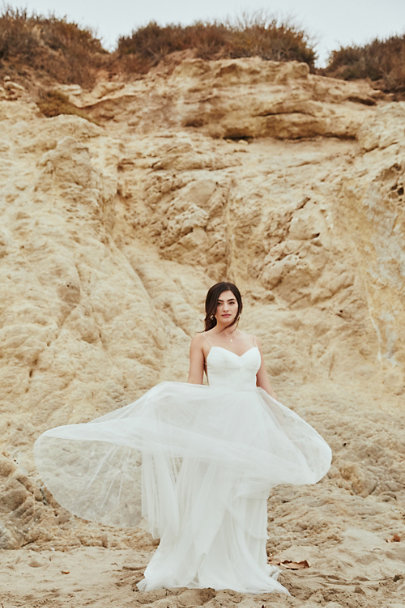 Watters Ivory Tinsley Dress | BHLDN