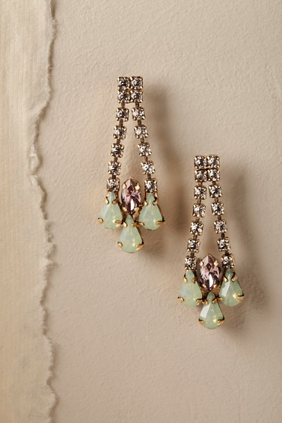 Gold Paradis Drop Earrings | BHLDN