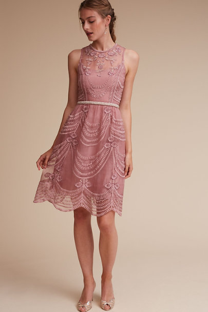 Yoana Baraschi Rose Quartz Anessa Dress | BHLDN