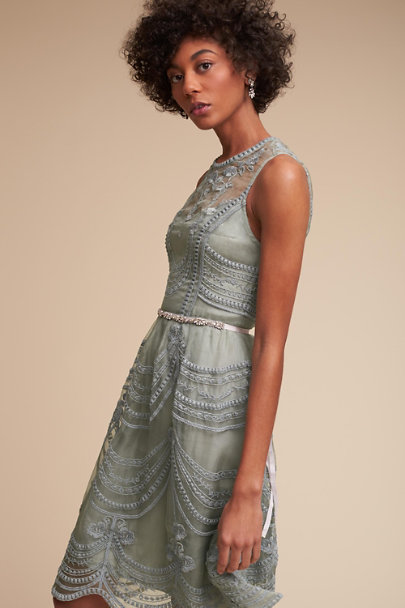 Hitherto Morning Mist Anessa Dress | BHLDN