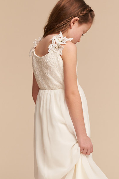 Amalee Accessories Ivory Juliana Dress | BHLDN