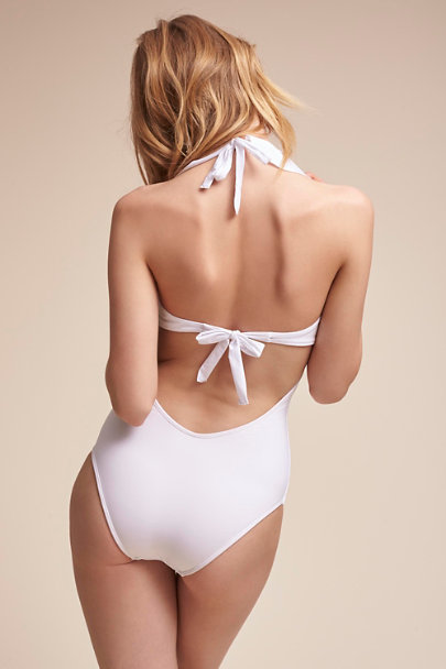 Ivory Saha One-Piece Swimsuit | BHLDN