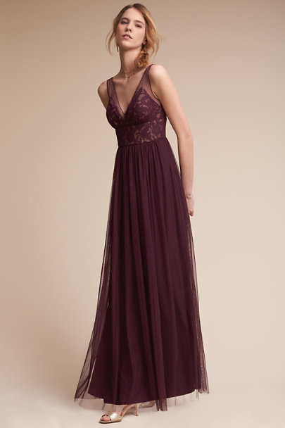 Hitherto Deep Amethyst Brit Dress | BHLDN