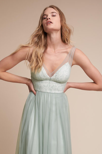 Hitherto Sage Brit Dress | BHLDN