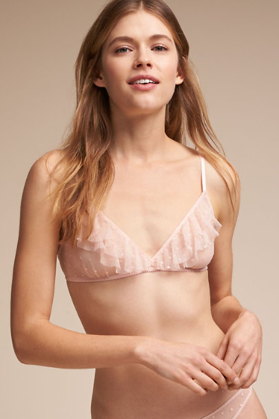Only Hearts Creme Lali Bra | BHLDN