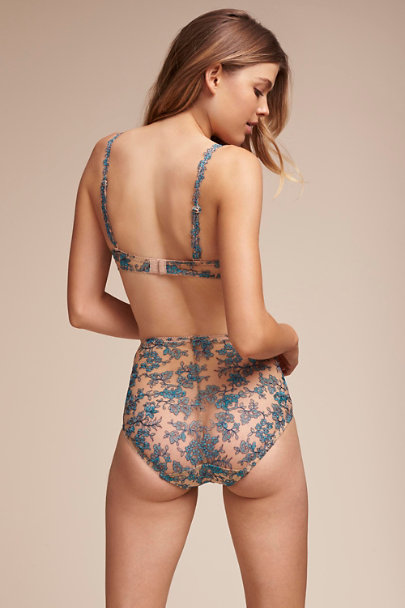 Blue Bellflower Brief | BHLDN