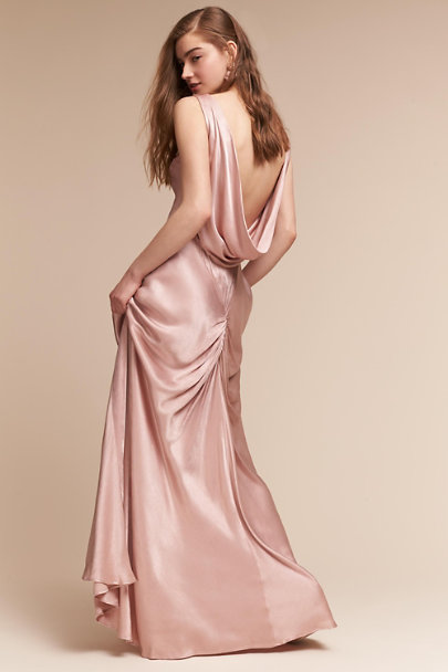 Ghost London Boudoir Pink Edie Dress | BHLDN