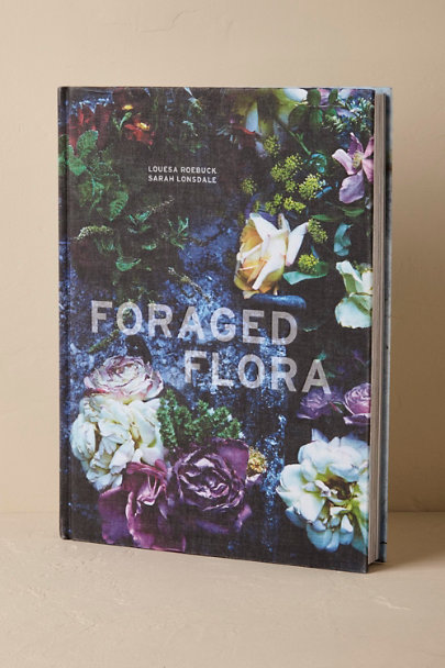 Multi Foraged Flora Book  | BHLDN