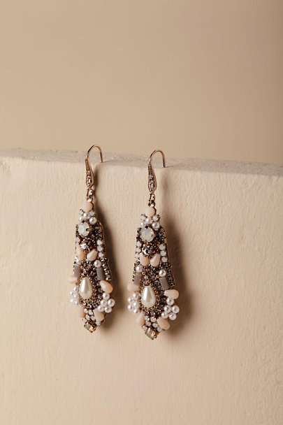 Theia Jewelry Gold Mita Chandelier Earrings  | BHLDN