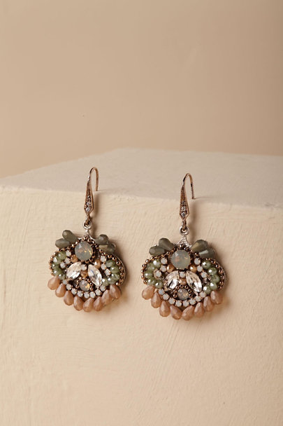 Theia Jewelry Silver Colima Chandelier Earrings  | BHLDN