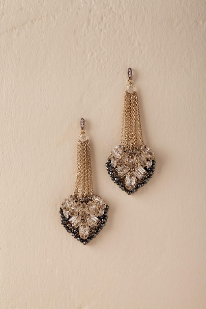 Theia Jewelry Gold Saluda Chandelier Earrings  | BHLDN