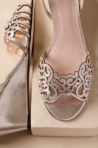Silver Kingston Wedges | BHLDN