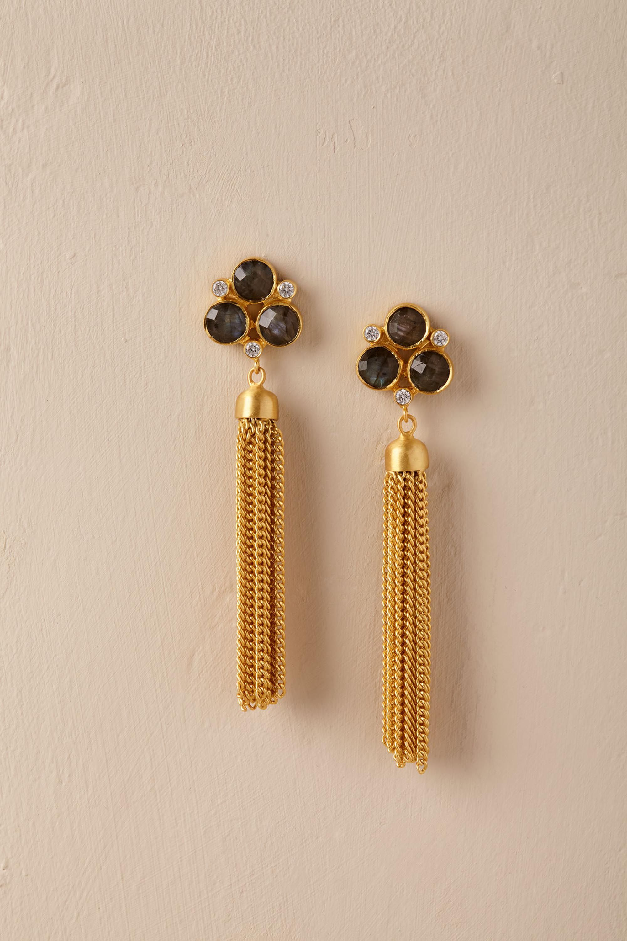 Binita Tassel Earrings