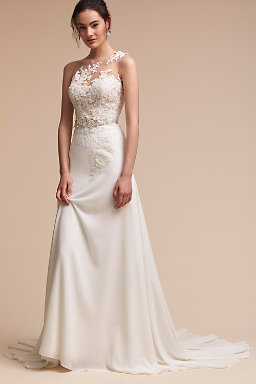 Shop wedding dresses on sale wedding dress clearance bhldn for Simple wedding dresses under 200