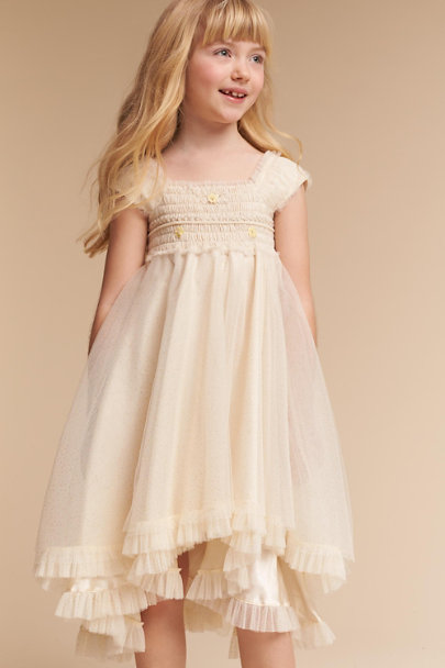 Champagne Dru Dress | BHLDN
