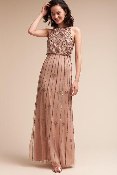 BHLDN Sandstone Amada Dress | BHLDN