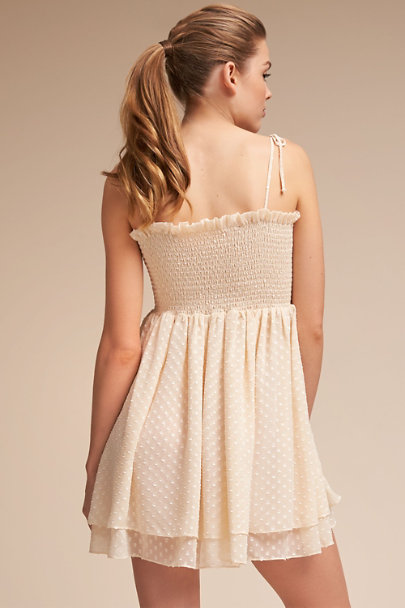 James Coviello Creme Coney Babydoll | BHLDN