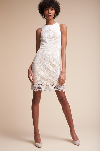 James Coviello Ivory/Nude Ashbury Dress | BHLDN