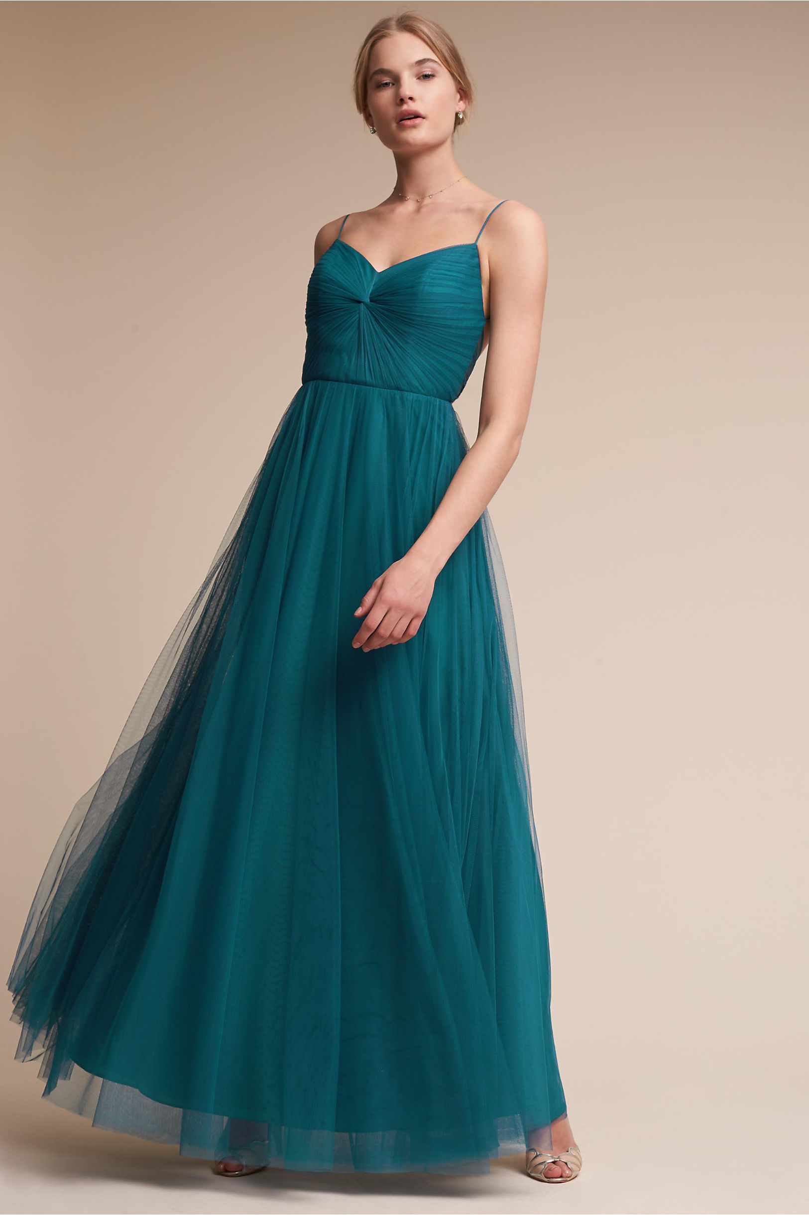 Tinsley Dress Teal in Sale | BHLDN