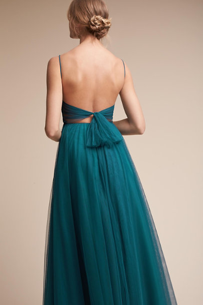 Watters Teal Tinsley Dress | BHLDN
