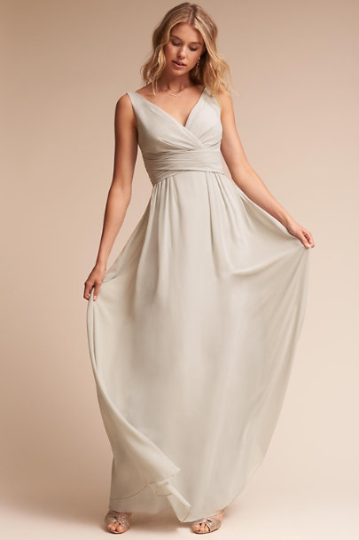 Watters Eucalyptus Carnegie Dress | BHLDN