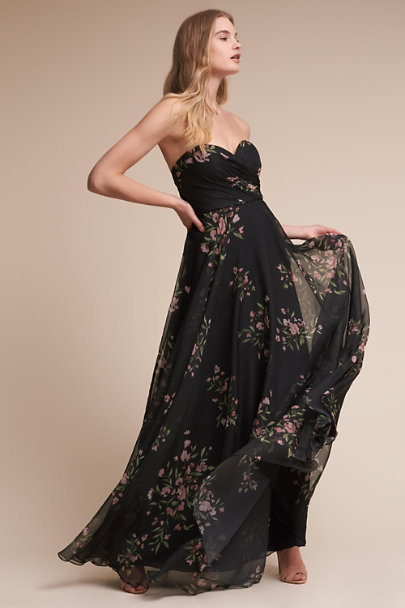 2c70c3e10b1f77 Jenny Yoo Black Cinnamon Rose Adeline Dress