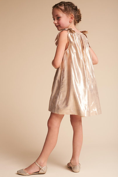 Velveteen Rose Gold Zuri Dress | BHLDN