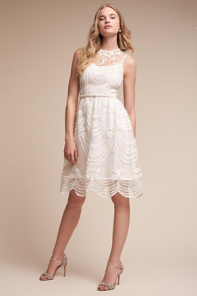 Hitherto Ivory Anessa Dress | BHLDN