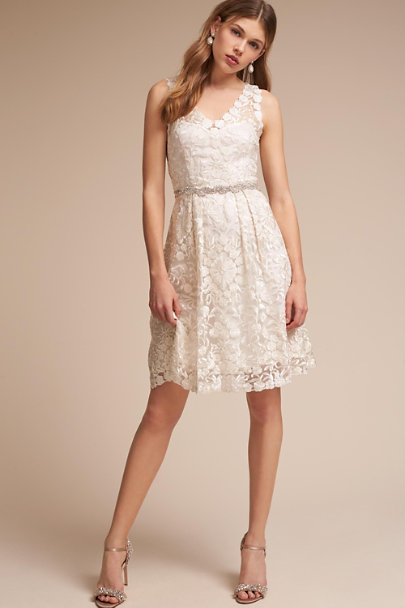 BHLDN Ivory Collins Dress | BHLDN