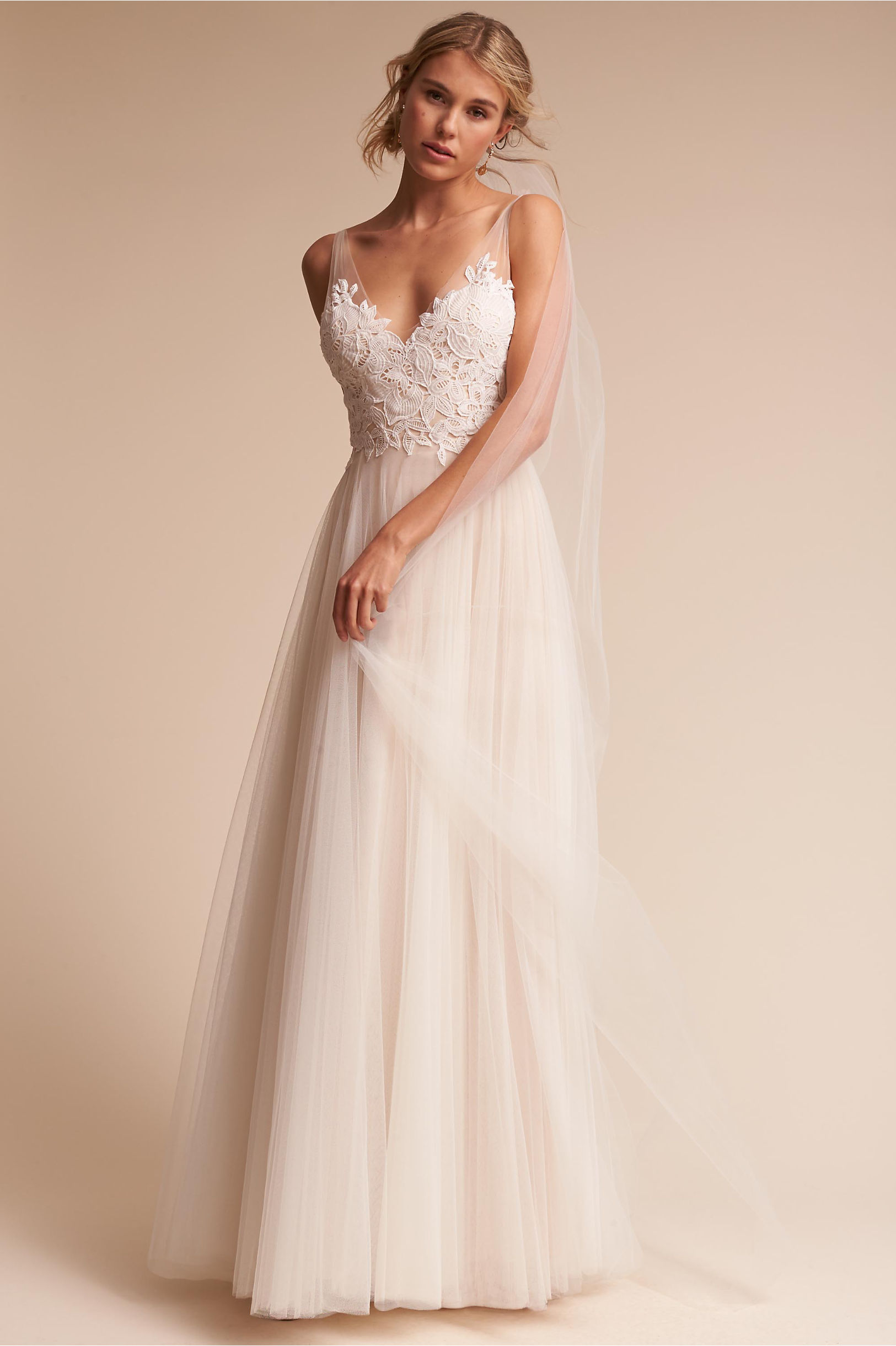 109ca803c340 Willowby by Watters Ivory/Champagne Heritage Gown | BHLDN