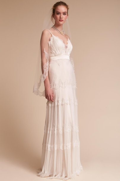 Catherine Deane Ivory/Champagne Jayme Gown | BHLDN