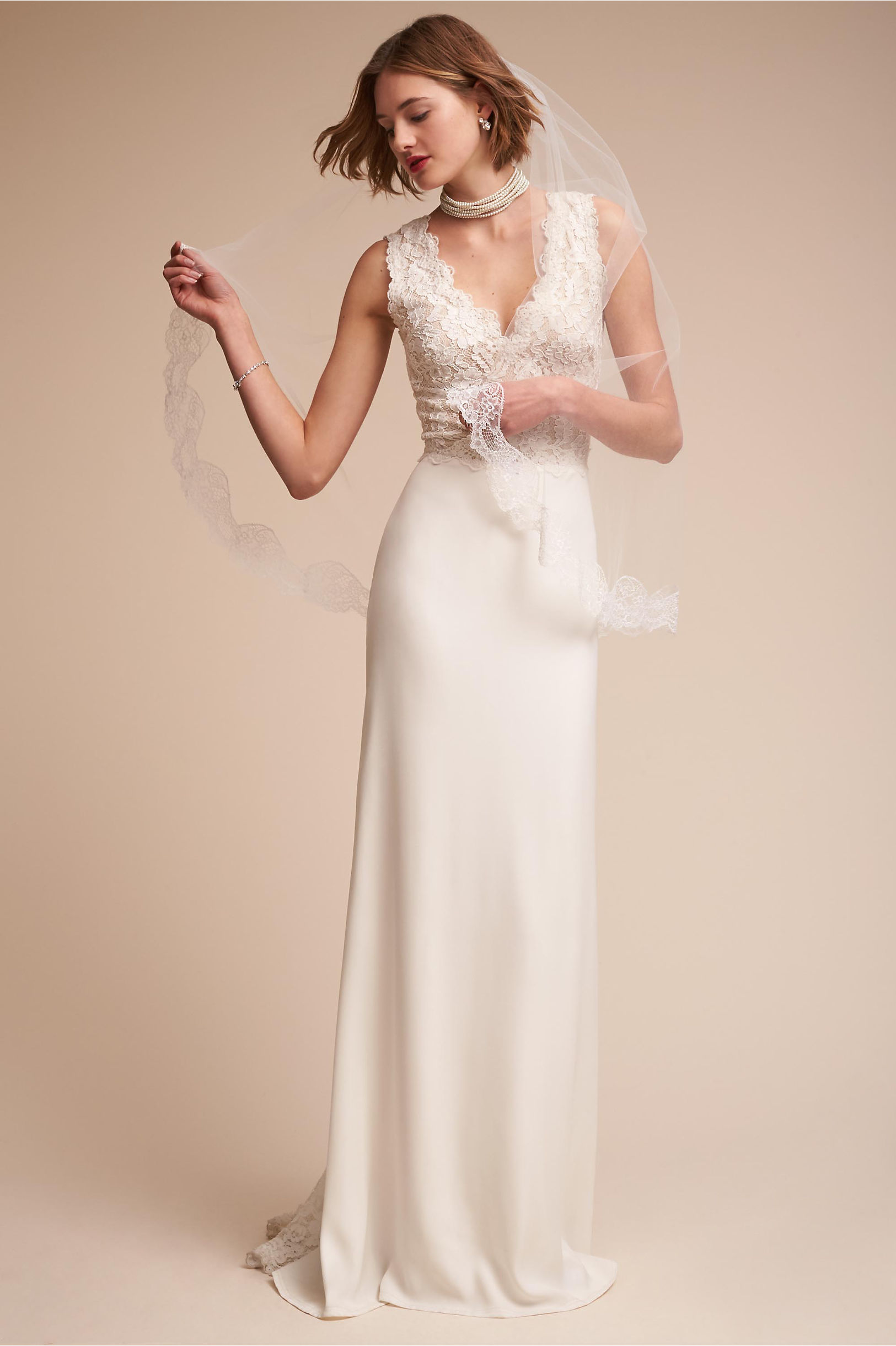 Andora Gown Ivory in Bride | BHLDN
