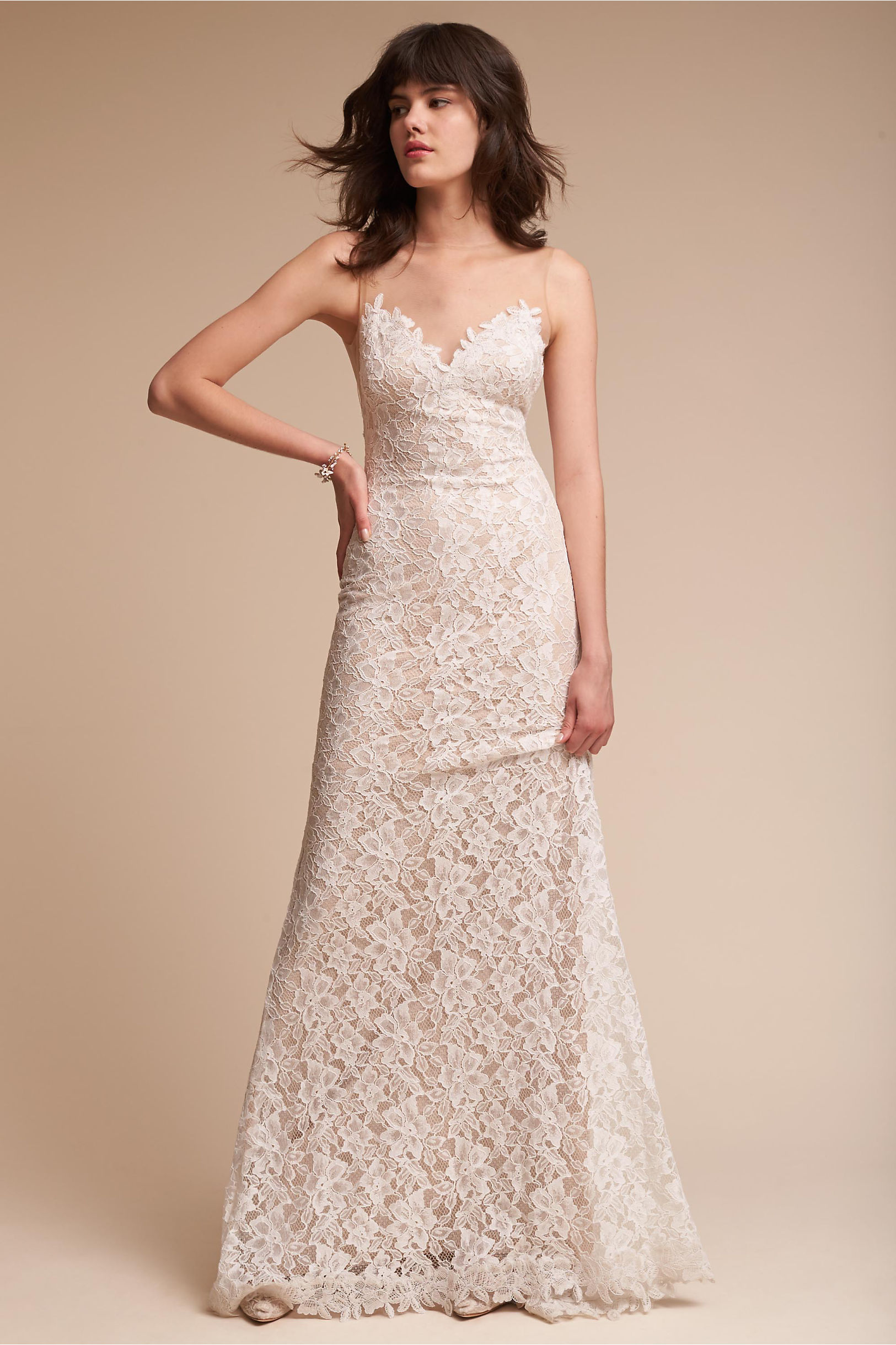 Helios Gown Ivory in Sale | BHLDN