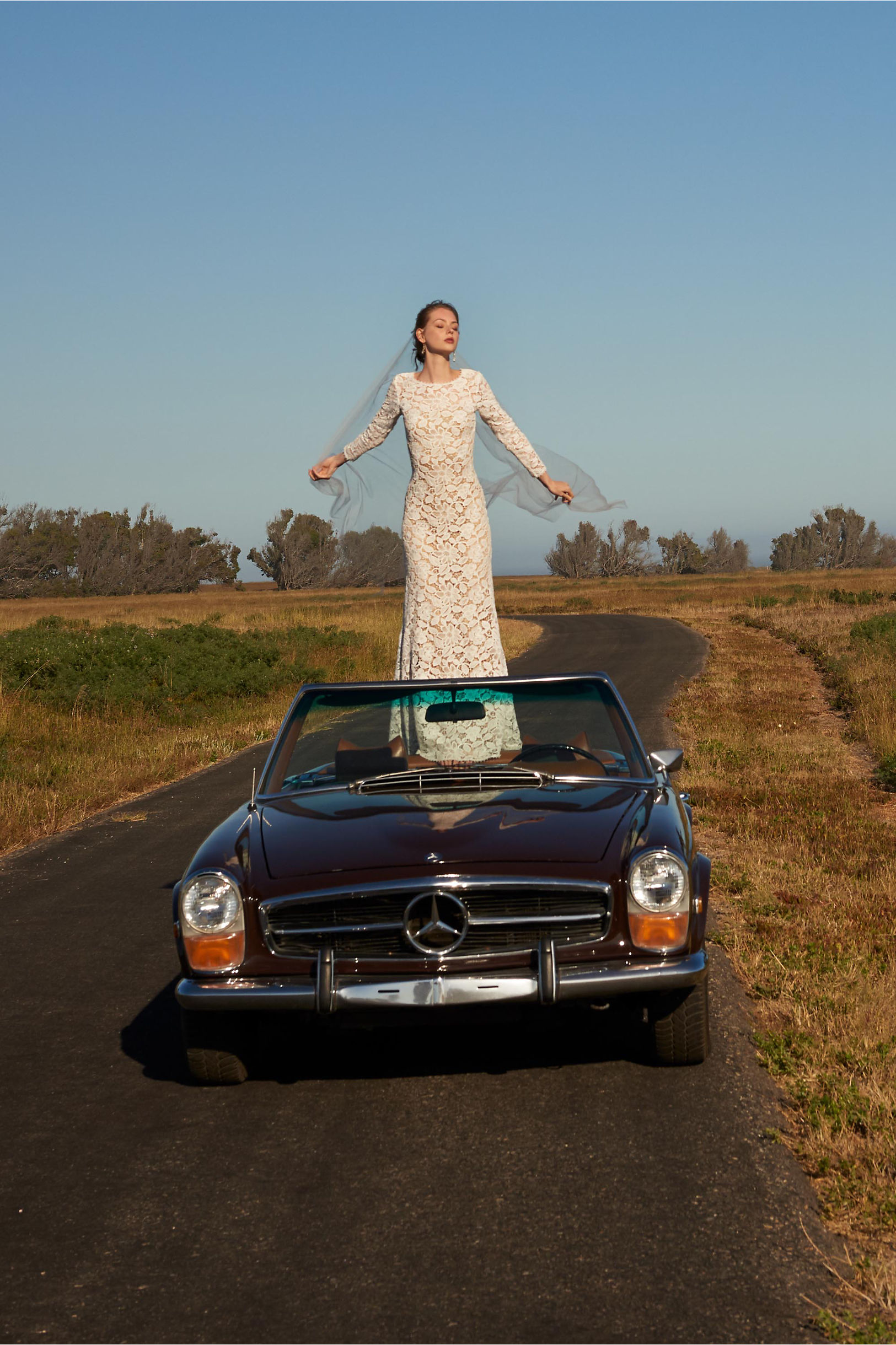 50s Wedding Dress, 1950s Style Wedding Dresses, Rockabilly Weddings Medallion Gown $780.00 AT vintagedancer.com