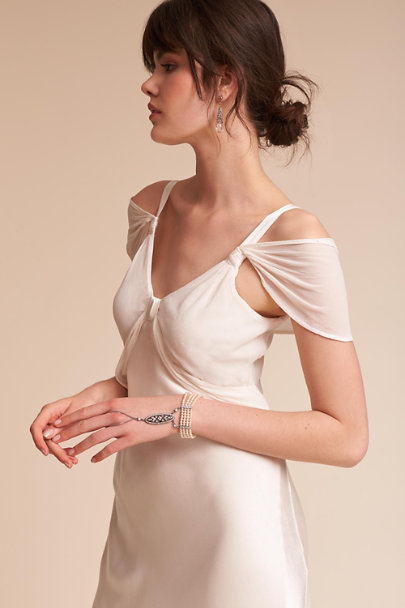 Ghost London Ivory Rodin Dress | BHLDN