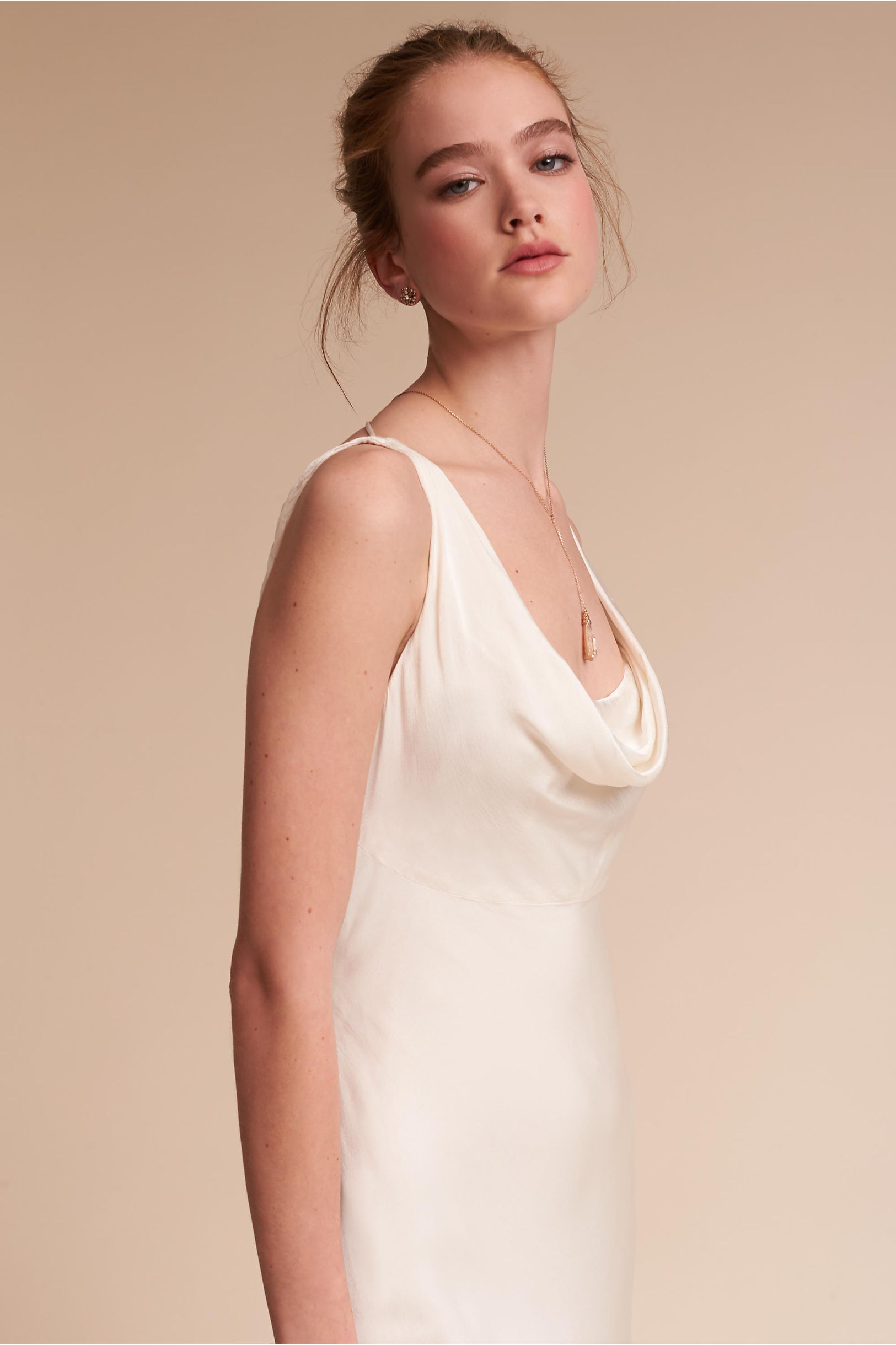 Willow Gown Ivory in Sale   BHLDN