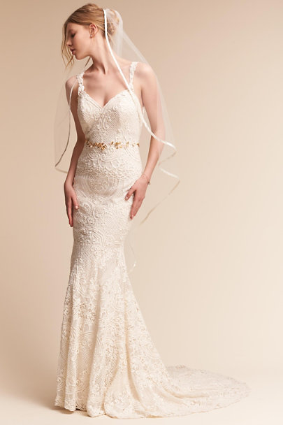 Rosa Clara Champagne Atherton Gown | BHLDN