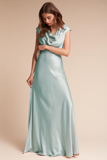 Ghost London Sky Light Gloss Dress | BHLDN