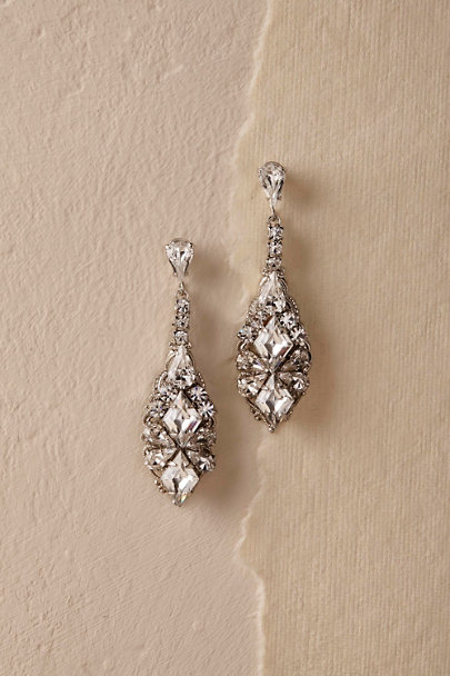 Ti Adoro Silver Salvador Drop Earrings | BHLDN